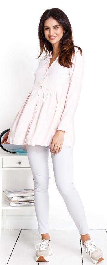 f6a1f51d85 Tehotenská blúzka Bubble pink - Happymum