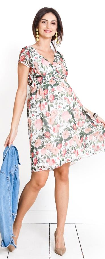 8271b73e62 Tehotenské šaty Pastel rose - Happymum