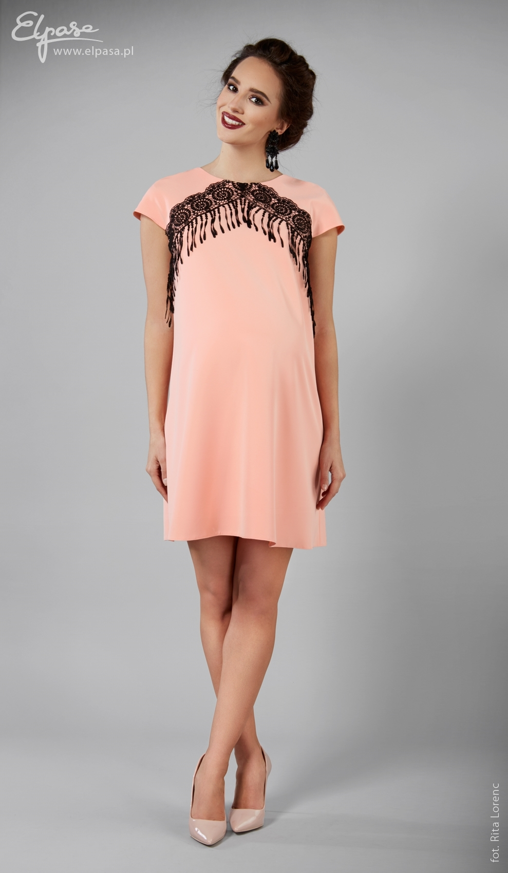 Tehotenské šaty Gisele - ELPASA  7bc6010b664