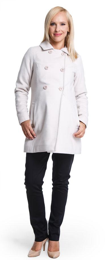 Tehotenský kabát Makalulu vanilla - Happymum  82dd6cb9e3d