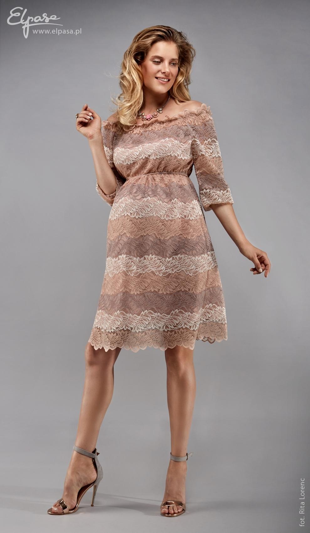 a135c7b0a Tehotenské šaty Leila - ELPASA   MamaStyl.sk - tehotenská móda ...
