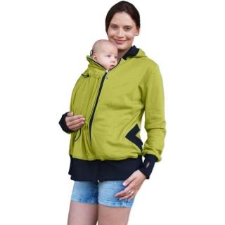 7654e3fea2f1 BEÁTA- BIO bavlnená mikina pre tehotné a nosiace ženy