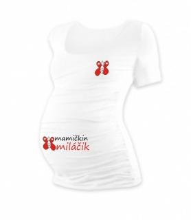250c5660db57 Tehotenské tričko s potlačou - Mamičkin miláčik - VIAC FARIEB empty