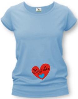 1390eb4e79 Tehotenské tričko s potlačou - Boží dar - VIAC FARIEB empty